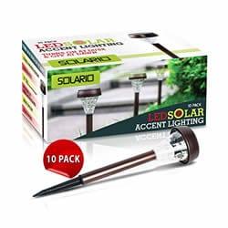Solario Garden Decor Solar Powered Lights
